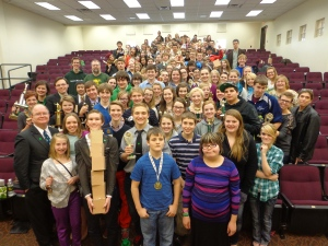 Speech teams from ND helped Lions raise over $2,000 for student scholarships!