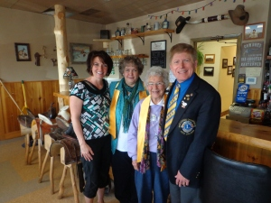New Lions welcomed at Newell Lions Club.