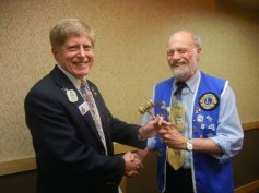 Lion Robert becomes President of the ND Past District Governors Association.