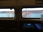 Overlooking the Hudson River on our way to Fishkill, NY.