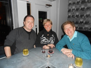 """We enjoyed a stop with our son in a """"hole in the wall"""" that has received rave reviews for atmosphere and service."""