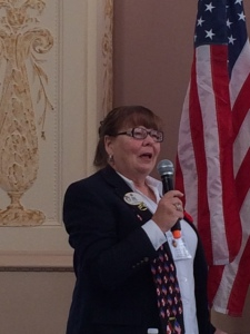 District Governor Pauline Cooper of 37N