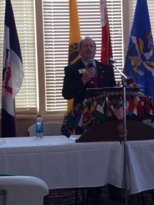 PID Dave Hajny presents the LCIF report.