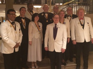 Ambassadors of Good Will with President Preston