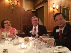 Elaine & ID Ed Farrington with Dr. Yamada
