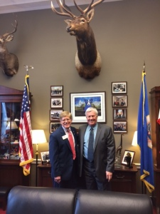 ID Robert visits Rep. Colin Peterson (MN)