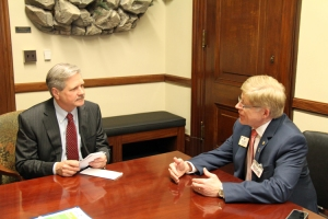 ID Robert discussion VOPA with Senator John Hoeven (ND)
