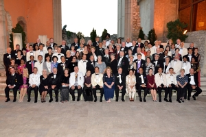 On one evening while together, the Board of Directors has a formal night.