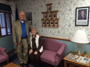 DG Dick and ID Linda at the State Office.
